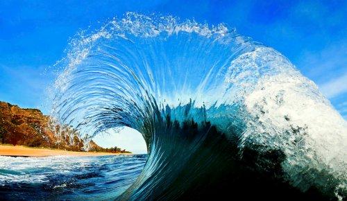 Clark Little's Tube Waves Photographs