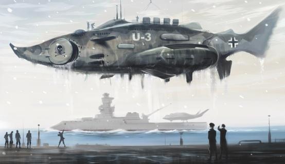Nazi_Submarine_U3_by_huihui1979